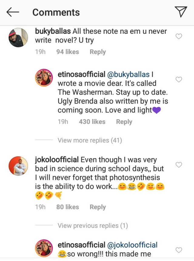 "Etinosa Set To Release New Movie Titled ""Ugly Brenda"""