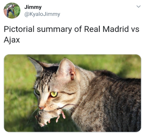 Read Reactions To Real Madrid's Humiliating Defeat By Ajax