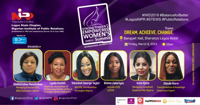 Lagos NIPR' STEWS Set to Mark International Women's Day On March 8