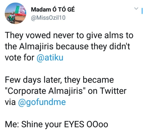 Mixed Reactions As Support Group Creates A GoFundMe Campaign For Atiku's Election Petition
