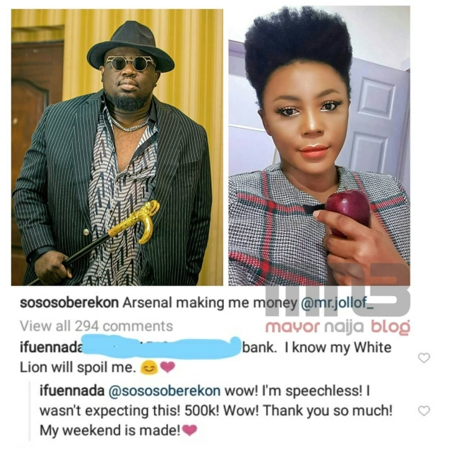 Days After Claiming She Makes N5M Daily, Ifu Ennada Joins League Of Online Beggars