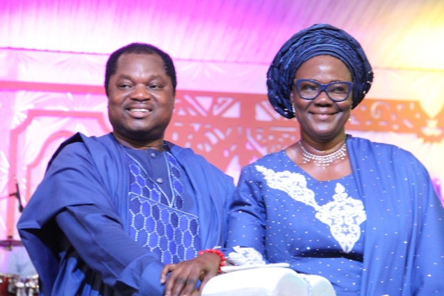 Pastor Oladiyun and wife