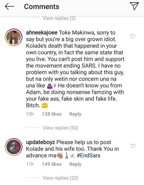 Fans Call Toke Makinwa A Hypocrite For Paying Tribute To Nipsey Hussle