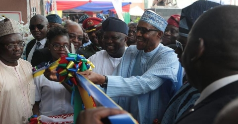Buhari Visits Lagos, Commissions New Ayinke House