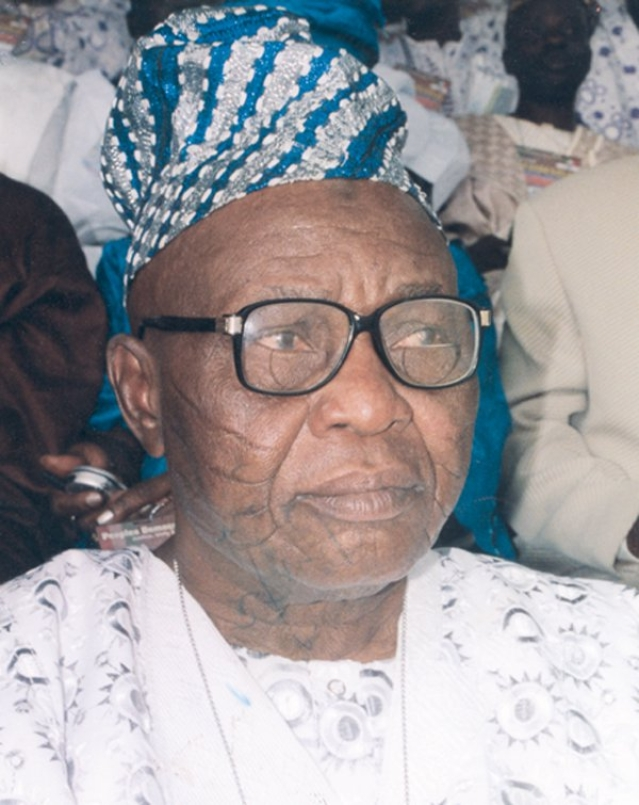The Late Lamidi Adedibu (Bose's late husband)