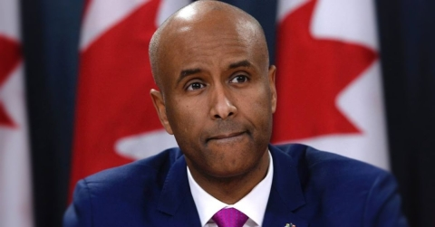 Ahmed Hussien, Canadian Interior Minister