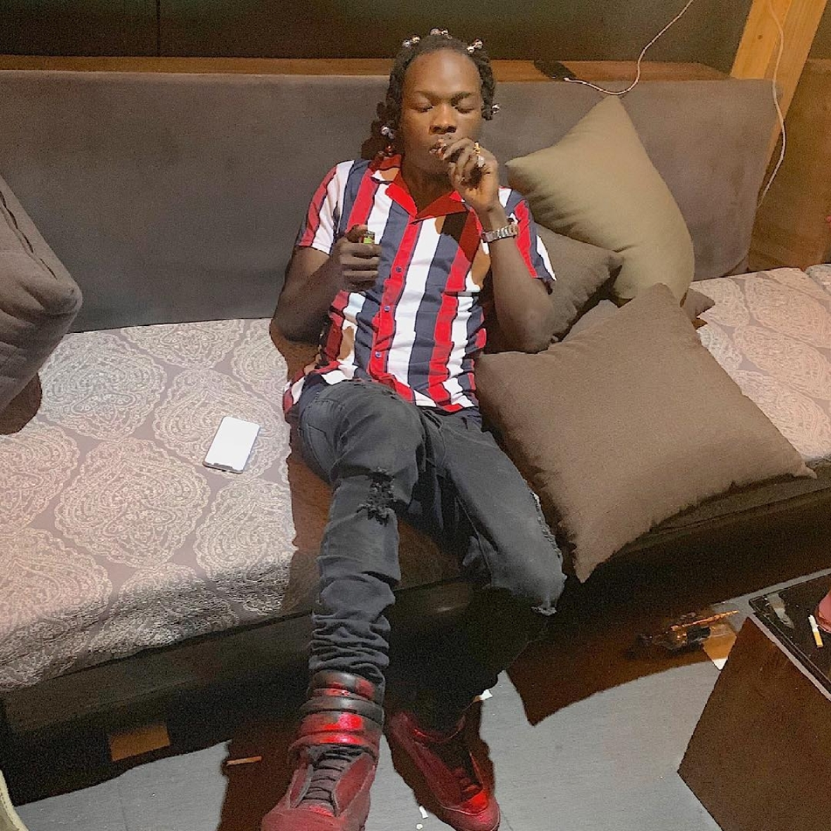 Naira Marley To Face 7-Year Jail Sentence If Found Guilty