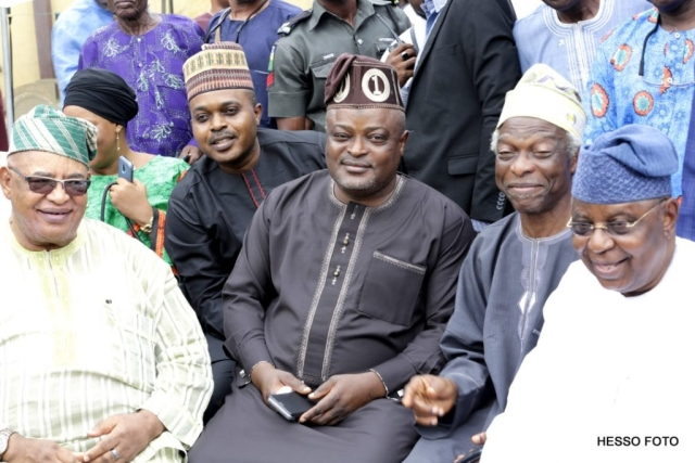 The Lagos Speaker and members of the house