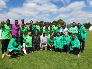 Flying Eagles Arrive Poland For FIFA U-20 World Cup