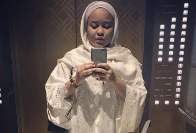 The new bride, Hadiza Tanko