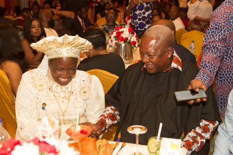Bashorun Dele Momodu 59th with An Evening With John Mahama