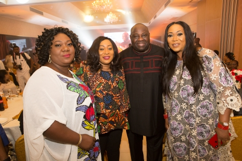 Bashorun Dele Momodu with guests