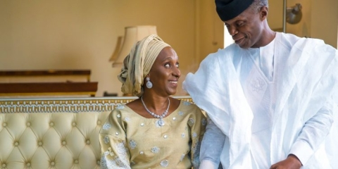 Osinbajo and wife, Dolapo