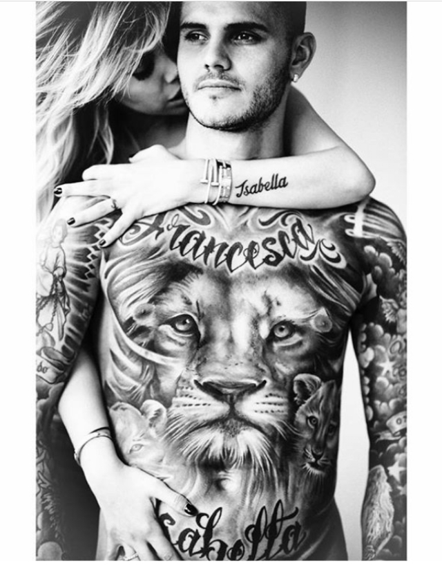 Inter Milan Striker, Mauro Icardi, And Wife Share Raunchy Photos