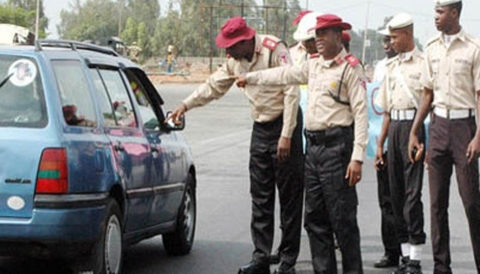 FRSC on duty