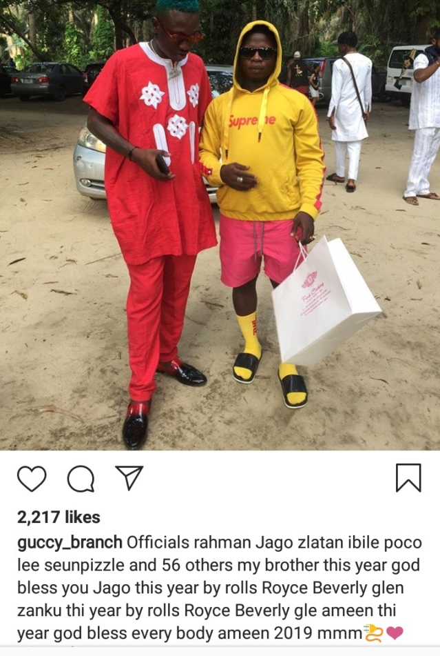 Guccy Branch Becomes Internet Sensation After His Arrest With Zlatan