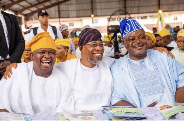 Yayi, Aregbesola and Lagos Speaker, Obasa