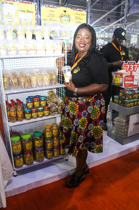 Tiwa Alakija - GTB Food and Drinks Exhibition