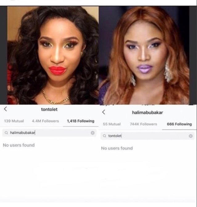 Revealed! See Why Halima Abubakar Is Angry With Tonto Dikeh