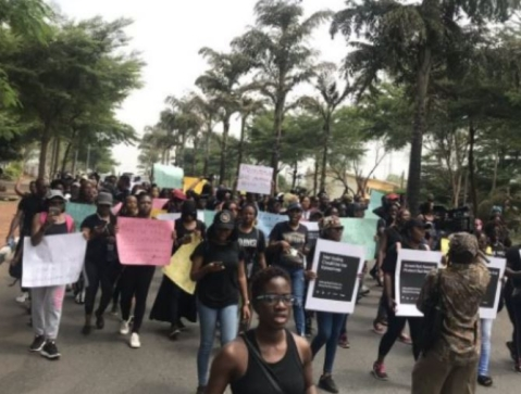 Protest In Abuja Police Command Over Rape Of Sex Workers