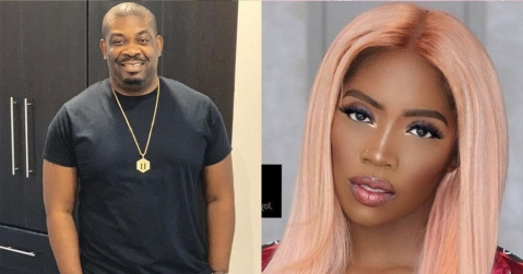 Don Jazzy Celebrates Tiwa Savage's Exit From Mavin Records