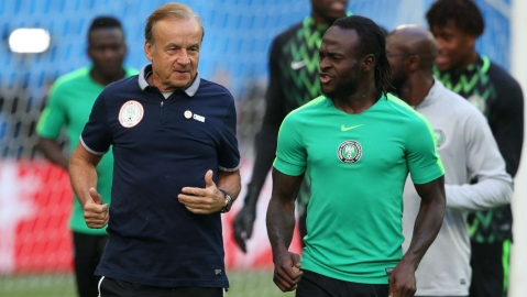 Gernot Rohr Will Not Kneel To Ask Victor  Moses Back