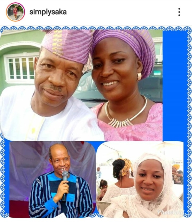 Actor Saka Shares Regret As He Celebrates His 16th Wedding Anniversary