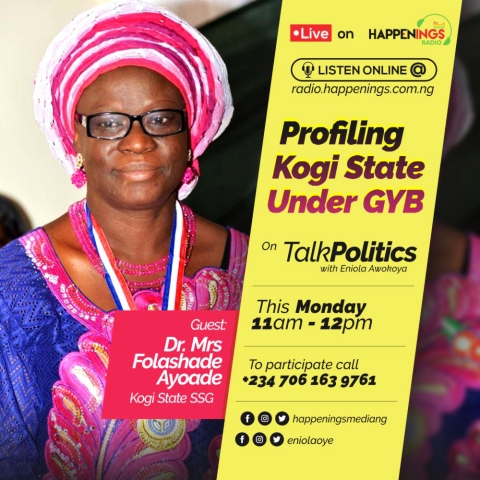 Talk Politics With Eniola Awokoya: Kogi State Government Denies Owing Workers 38 Months Salary Arrears