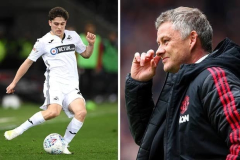 Daniel James to Become Ole Gunnar Solskjaer's First Signing