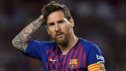 Van Gaal blames Messi for Barcelona's Champions League Woes