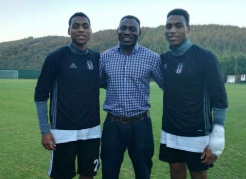 Daniel Omokachi Celebrates His Twin Sons On Their Birthday