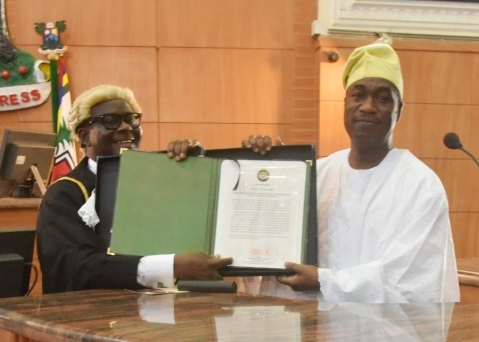 Sanwo-Olu Inaugurates 9th Lagos Assembly