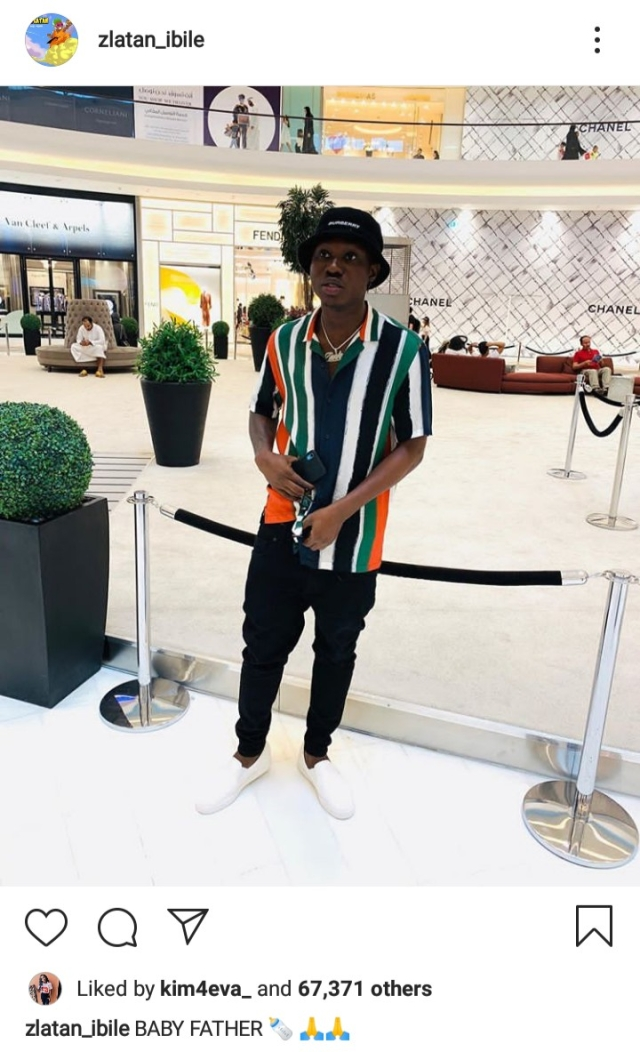 Has Zlatan Ibile Welcomed A Baby?