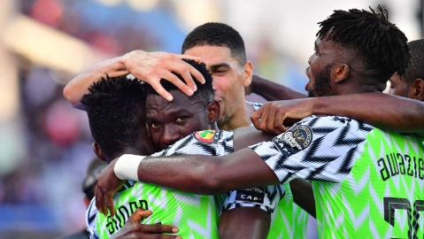 Nigeria 1-0 Guinea: Kenneth Omeruo's Goal Sends Super Eagles Into Round Of 16