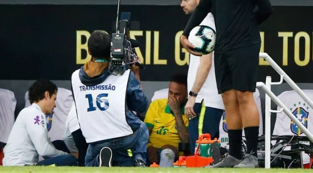 Brazil's Star, Neymar, Out Of Copa America 2019