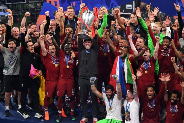 Spurs 0-2 Liverpool: Salah And Origi Wins Sixth European Title For Reds