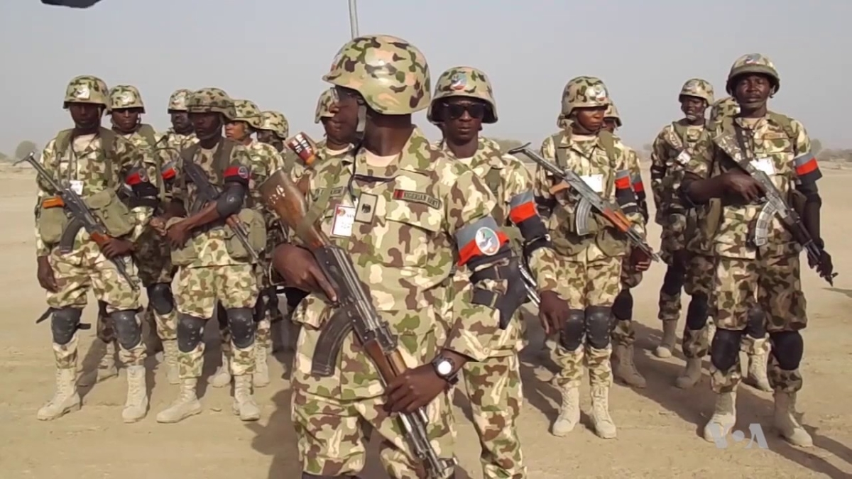 The Nigerian Army Stops Insurgent Attack In Mafa Town