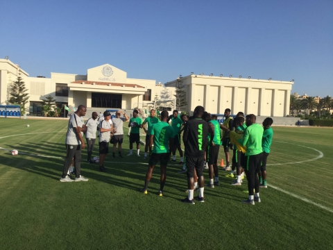 Shehu Abdullahi And Two Other Players Miss Super Eagles Training