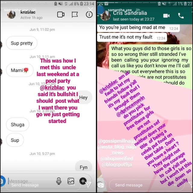 Lady Calls Out D'prince And Rema's Manager For Refusing To 'Pay' After Hookup