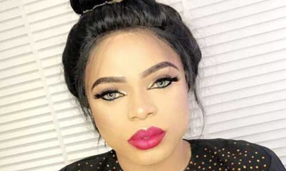 Lady Claims Bobrisky Yelled At Her For Taking Photos Of Him