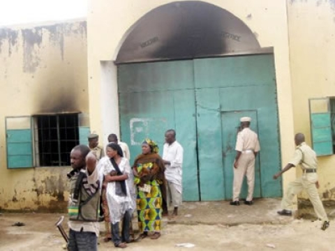Nigerian Prison Service Officers Brutalize Relatives Of Detainee Who Died In Custody