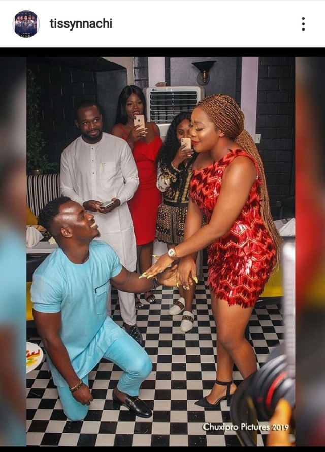 Producer, Tissy Nnachi, Finally Proposes To His Longtime Girlfriend