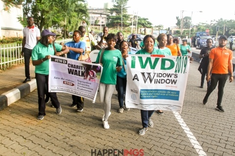 International Widows' Day charity walk
