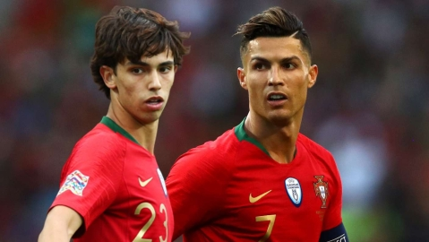 """I Want To Be Like Cristiano Ronaldo"" - Atletico Madrid Wonderkid Joao Felix"