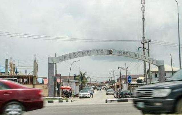 The gate of Elegushi Estate
