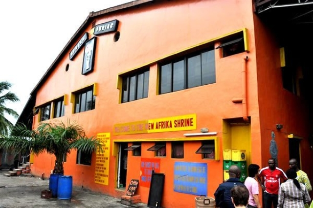 The Exterior of the New Afrika Shrine