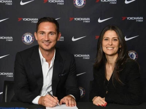 Chelsea Announce Club Legend, Frank Lampard As New Boss