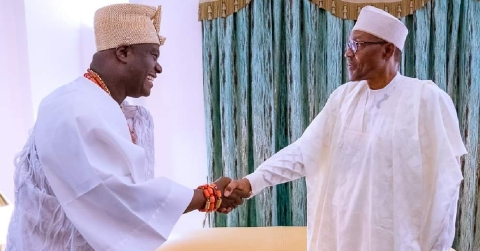 Ooni of Ife and Buhari