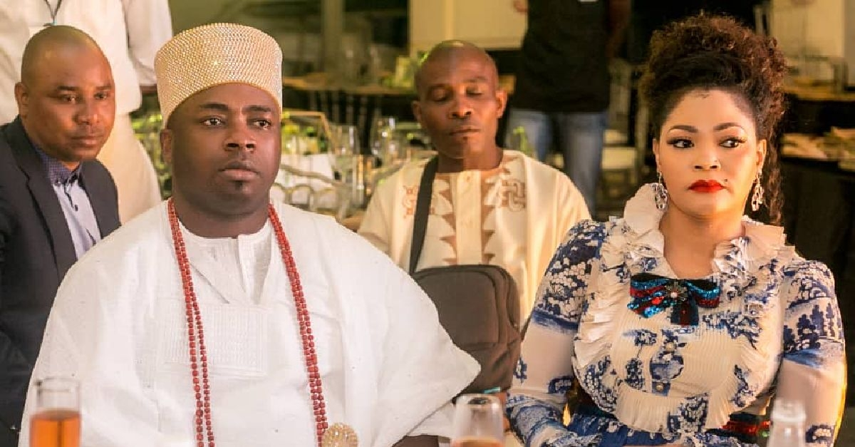 Elegushi Steps Out With First Wife, Olori Sekinat