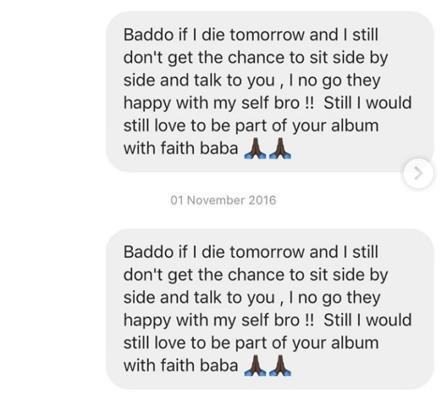 Zlatan Shares Screenshots Of  Old DMs He Sent Olamide As An Upcoming Artiste